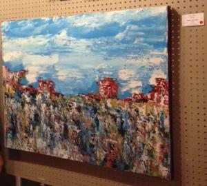 Snowy River--24'' x 40''--acrylic on canvas--Art Lovers' Soiree