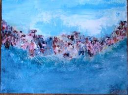 Sorrento--Oct. 2015--acrylic on canvas--$165.00